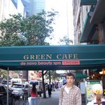 Green Cafe Front