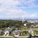 View from atop the Lighthouse