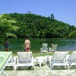 Rio, praia e caiaque