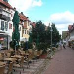 Einkaufsgasse in Freudenstadt