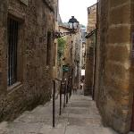 Quaint streets like this throughout the town of Sarlat