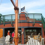 The Pirate Ship & Outside Bar & Deck