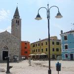 Fazana's central Square