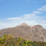 妙見岳展望台からの平成新山