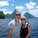 The pitons... a must see while there!