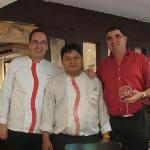 Rene, Manok, & Thomas, Chesa chefs