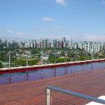 View of Sao Paulo from the pool
