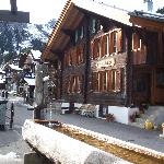 Chalet Fontana from the restaurant across the street