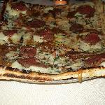 Tenderloin Pizza with Mashed Potatoes and White Truffle Oil - This is the best pizza I have ever