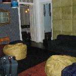 Living room (taken very early so it is dark)