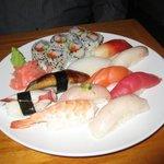 My Husband's Sushi Platter
