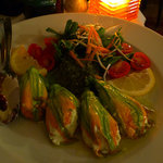 Stuffed zucchini flowers - tasteless