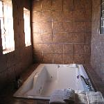 Two person steam/jetted tub