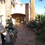 Sierra Grande Lodge entrance area