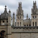 Uma das faculdades de Oxford University