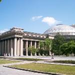 The Novosibirsk Opera House.
