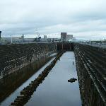 The dry dock which held the Titanic