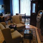 Main lobby and breakfast area