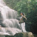 Water fall inside the resort