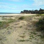 Mais vistas da praia (era bem bonita e agradavel)