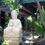 Pondok Lita Buddha welcome