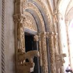 Cathedral of St Lawrence - Romanesque Doorway