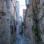 Trogir's narrow streets
