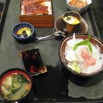 eel lunch set