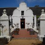 Typical Cape-Dutch farmhouse