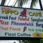 The Hipo Cafe Sign