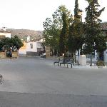 La Celada village square