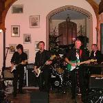 The Bootleggers Band in the Orangery