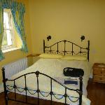 comfy bedroom with disabled facilities