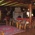 Main lodge - cozy, yet elegant