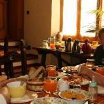 Breakfast at Domu'e Luna