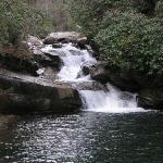 Thopson River Falls at Lake Jocassee SC