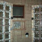 His and Her showers master suite