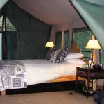 Luxury Tented Bedroom