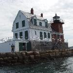 Rockland Lighthouse; nearby