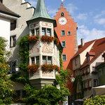 Meersburg market place