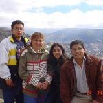 Panorámica de la ciudad de La Paz