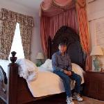 Mu husband in Our Guestroom