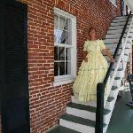 Dress up outside on B&B Staircase