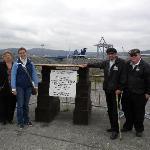 Titanic Ship marker, Harland and Wolfe shipyard.