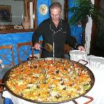 soirée paella et sangria