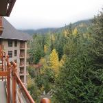 Whistler. The view from my balcony.