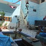 courtyard, Durag Niwas Guest House