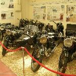 Lots of old bikes to see as well.