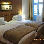 Room 329 beds