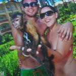 dos monos y yo ja ja!!!